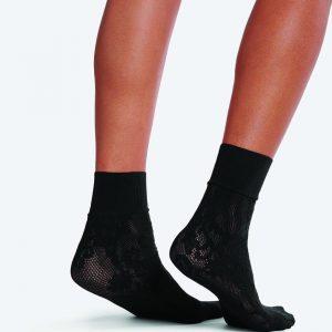 Wolford Kassandra socks black one size