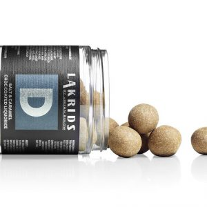 Lakkrís D salt & caramel 125 gr
