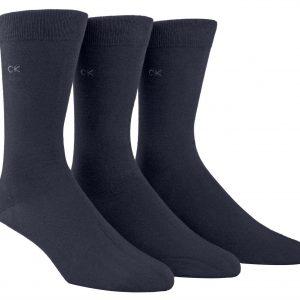 Calvin Klein Eric 3/pk socks cotton navy