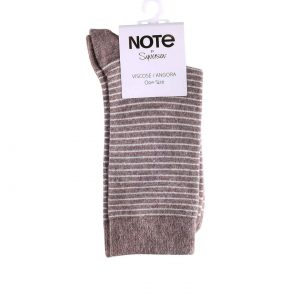 NOTE viscose/angora stripes