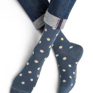 Bleuforet Shaded dots sokkar jeans
