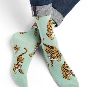 Bleuforet tiger sokkar jade