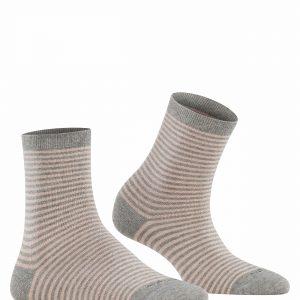 Burlington Ladywell Ringlet socks melange grey
