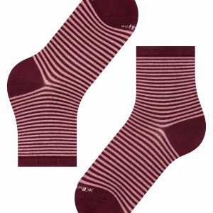 Burlington Ladywell Ringlet socks barolo