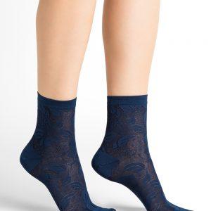 Bleuforet Lacy Eklerberry silki sokkar jeans 3