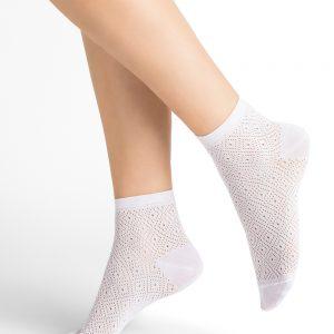 Bleuforet Losanges sokkar white 3