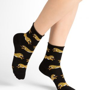 Bleuforet Panthers sokkar black 3