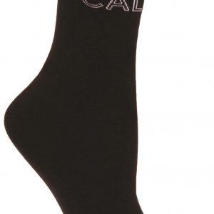 Calvin Klein Keisa logo work sokkar svart