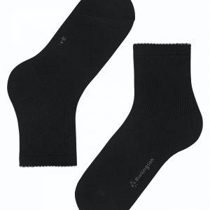Burlington Chelsea short socks black