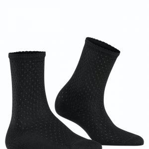Falke sokkar pointelle black 3