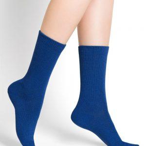 Bleuforet kashmír ullarsokkar electric blue