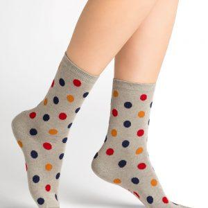 Bleuforet dots socks grey