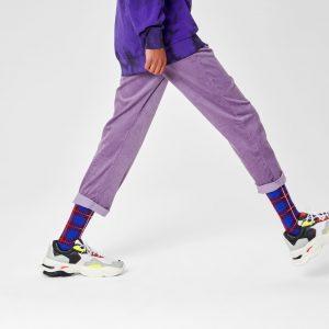 Business Business socks burgundy/blue