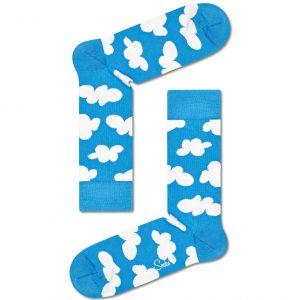 Cloudy socks blue/white