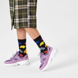 Cloudy socks black/multi