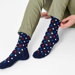Dot socks blue/multi