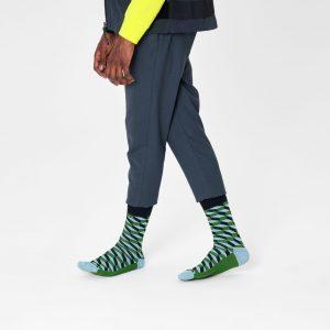 Filled optic socks green/multi