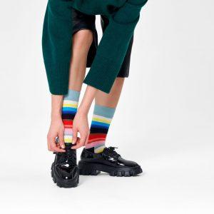 Gradient Socks black/multi