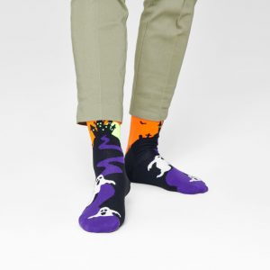 Halloween Ghost socks black/multi