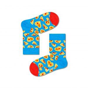 Kids Pizza Love Socks blue/multi 2