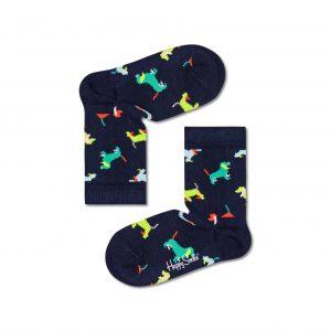 Kids puppy love socks blue/multi