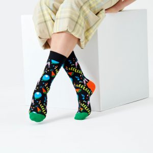 Party party socks black/multi