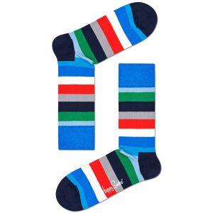 Stripe socks blue/multi