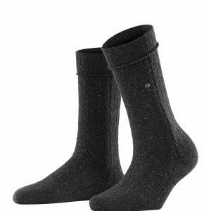 Burlington Cosy boot socks anthracite