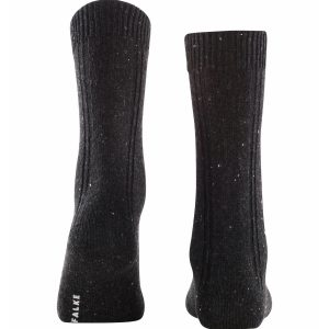 Falke Precise Craft socks anthracite mel 3