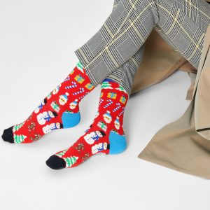 All I want for Christmas socks red